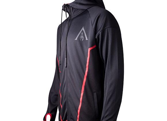 ASSASSIN'S CREED Odyssey Mens Technical Hexagonal Full Length Zipper Hoodie