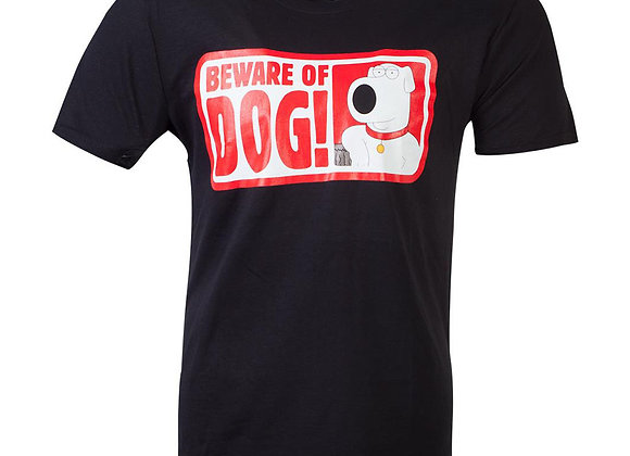Family Guy Official Beware Of The Dog T-Shirt