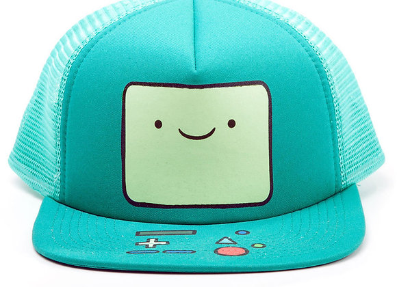 ADVENTURE TIME Beemo Video Game Console Face Trucker Snapback Baseball Cap