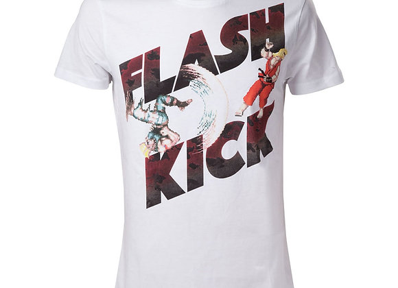 Street Fighter IV Guile's Flash Kick T-Shirt