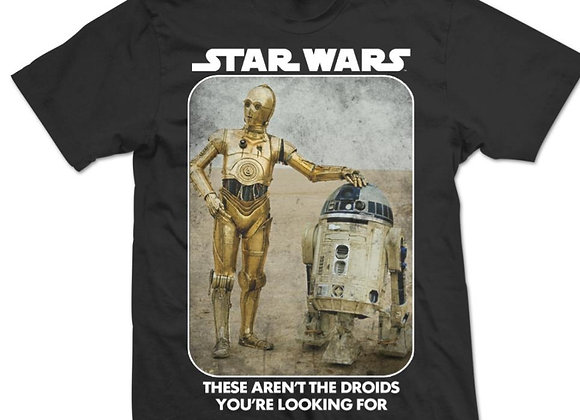 Star Wars Have You Seen These Droids Official T-Shirt