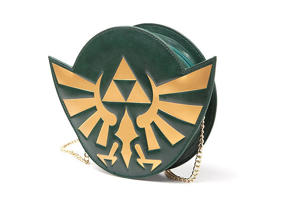 NINTENDO Legend of Zelda Golden Hylian Royal Crest Ladies Purse