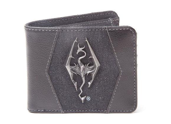 THE ELDER SCROLLS Skyrim Dovakhiin Logo Bi-fold Wallet