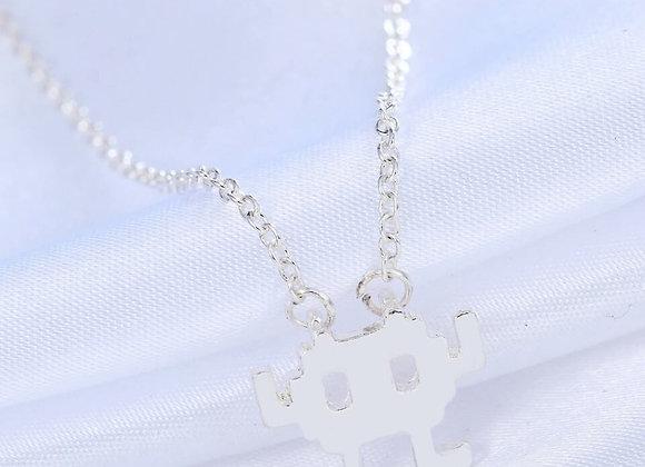 Space Invader Necklace