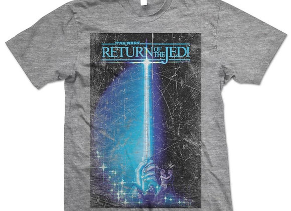 Star Wars Return of the Jedi Vintage Grey Official T-Shirt
