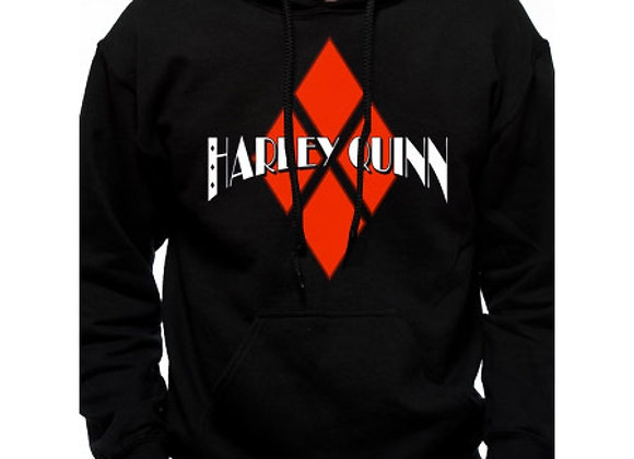 Harley Quinn Official DC Diamond Design Hoodie