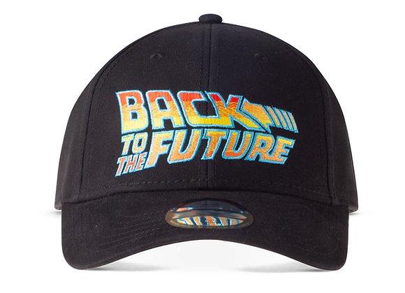 Back to the Future Logo Adjustable Street Baseball Cap