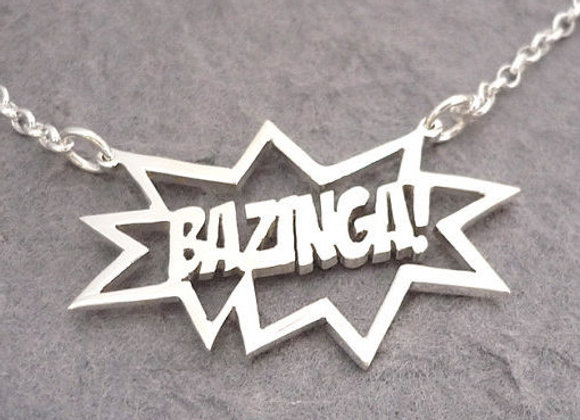 BAZINGA! Big Bang Theory Necklace