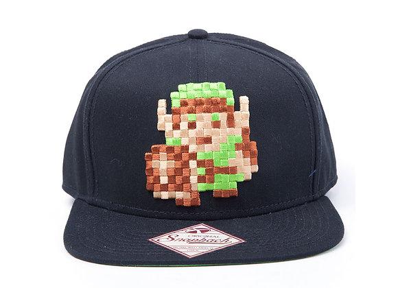 Legend Of Zelda Pixel Link Official Snapback Cap