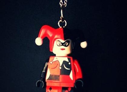 Harley Quinn DC Comics Lego Necklace