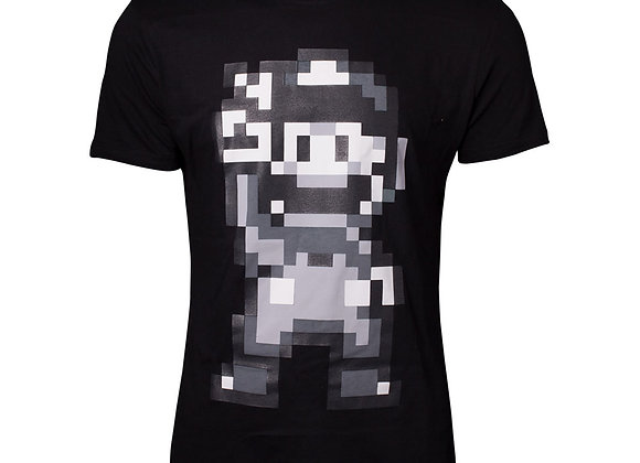 NINTENDO Super Mario Bros. 16-bit Mario Peace T-Shirt