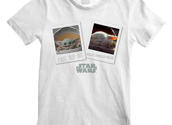 The Mandalorian First Trip Out Official Kids T-Shirt