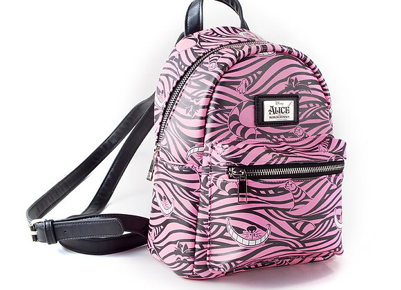 DISNEY Alice in Wonderland Cheshire Cat All-over Print Backpack