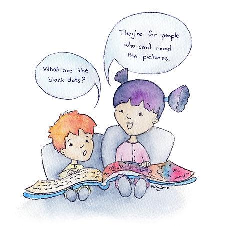 Children Siblings reading Rita Jane.jpg