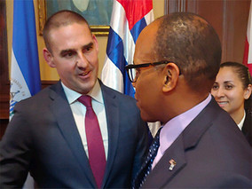 WLC Staff Meets with San Salvador Officials