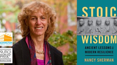 May 14 | Wash Lit and Politics & Prose Live! Nancy Sherman | Stoic Wisdom