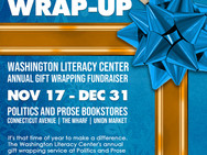 Annual Holiday Gift Wrapping Fundraiser at Politics & Prose Bookstore