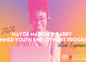 2020 Marion S. Barry SYEP Pre-Apprenticeship and Training Program