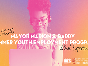 2020 Marion S. Barry SYEP Pre-Apprenticeship and Training Program