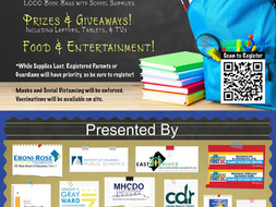 Ward 7 Back to School Giveaway - August 21, 2021