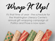 Announcing the Launch of the 2017 WLC Gift Wrapping Campaign!