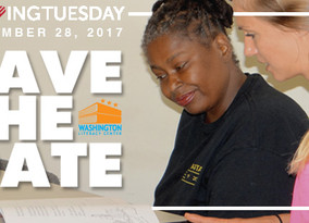 SAVE THE DATE - #GIVINGTUESDAY