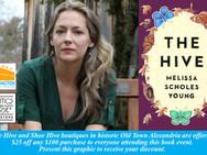 June 8   Wash Lit and Politics & Prose Live! Melissa Scholes Young  The Hive