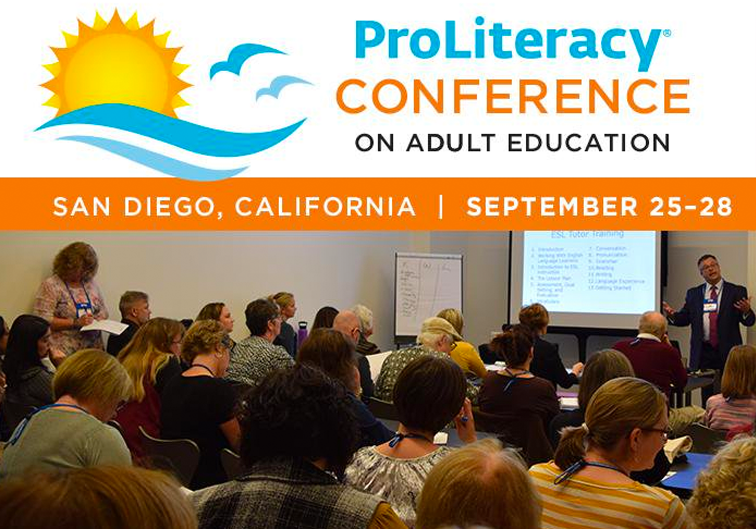 ProLiteracy Conference  - San Diego 2019