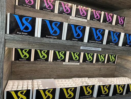 VAPE SHACK  BUNDLE 5 FOR £10.00
