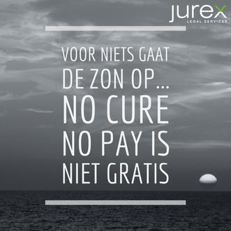 No cure no pay is niet gratis