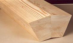 poutre bois profilé