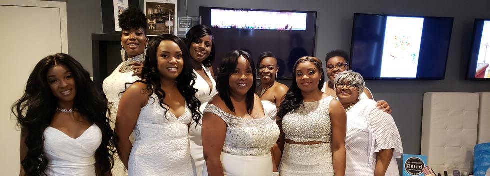Harriston-Brown Wedding Party