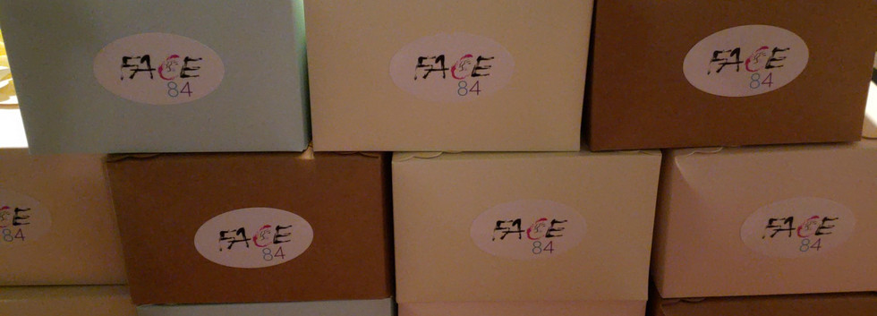 FACE84 Bridal Boxes