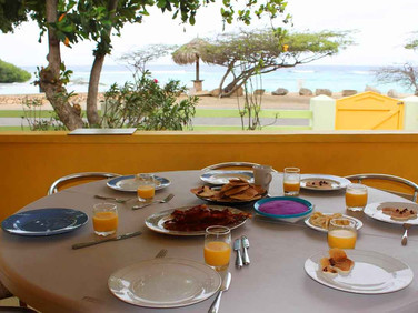 Enjoy a home-made breakfast in front of this view!