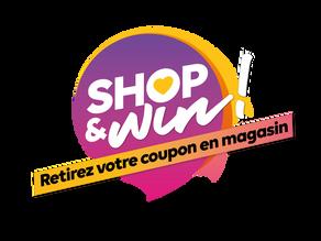 Shop & Win au Douaire Ottignies!!