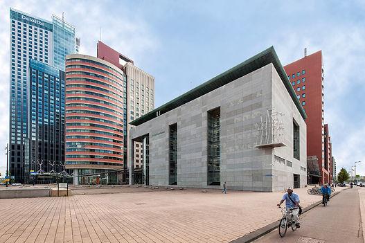 Rectbank, courthouse, gerechtsgebouw, rechtbank Rotterdam
