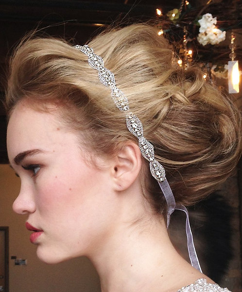 Hanne Crystal Headband