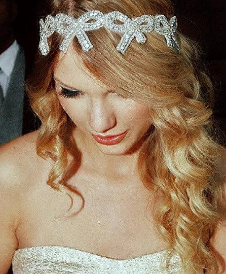 Rachel Bow Headband - Taylor Swift