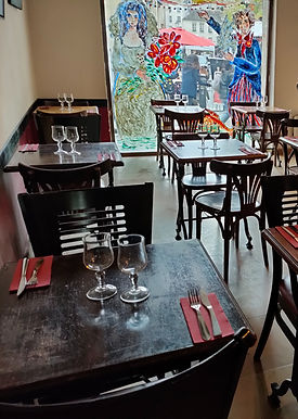 Privatisation Galerie Chez Marianne repas et cocktail
