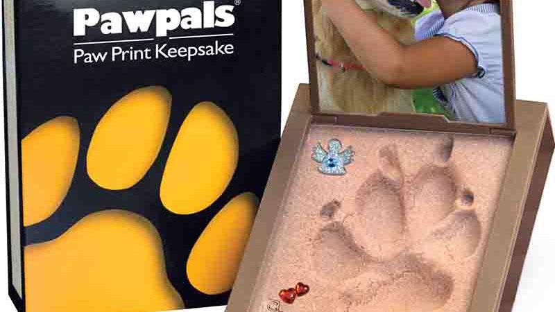 Pawpals paw print keepsake 🐾