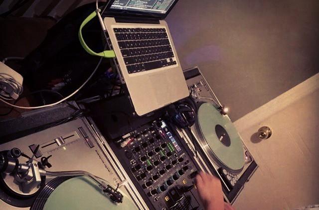 Insane DJing at legit house