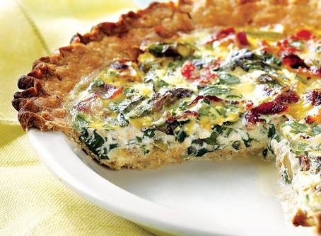 Breakfast Asparagus and Tomato Bake