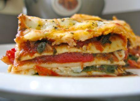 Gluten Free Veggie Lasagna- wowza