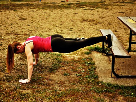 Park Workout- All you need is a park bench!