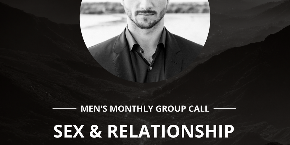 Men's Group Call w/ Justin Patrick Pierce