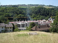 2005 GUTEX: Строительство второго цеха на территории завода