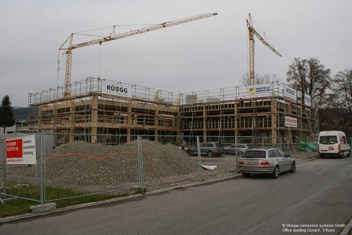 Office building Uznach, 3 этажа