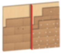 Монтаж GUTEX Thermowall на основание из массива древесины