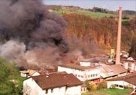 1994 GUTEX: Сильный пожар