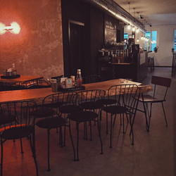 Bar Restaurant modernes Interieur